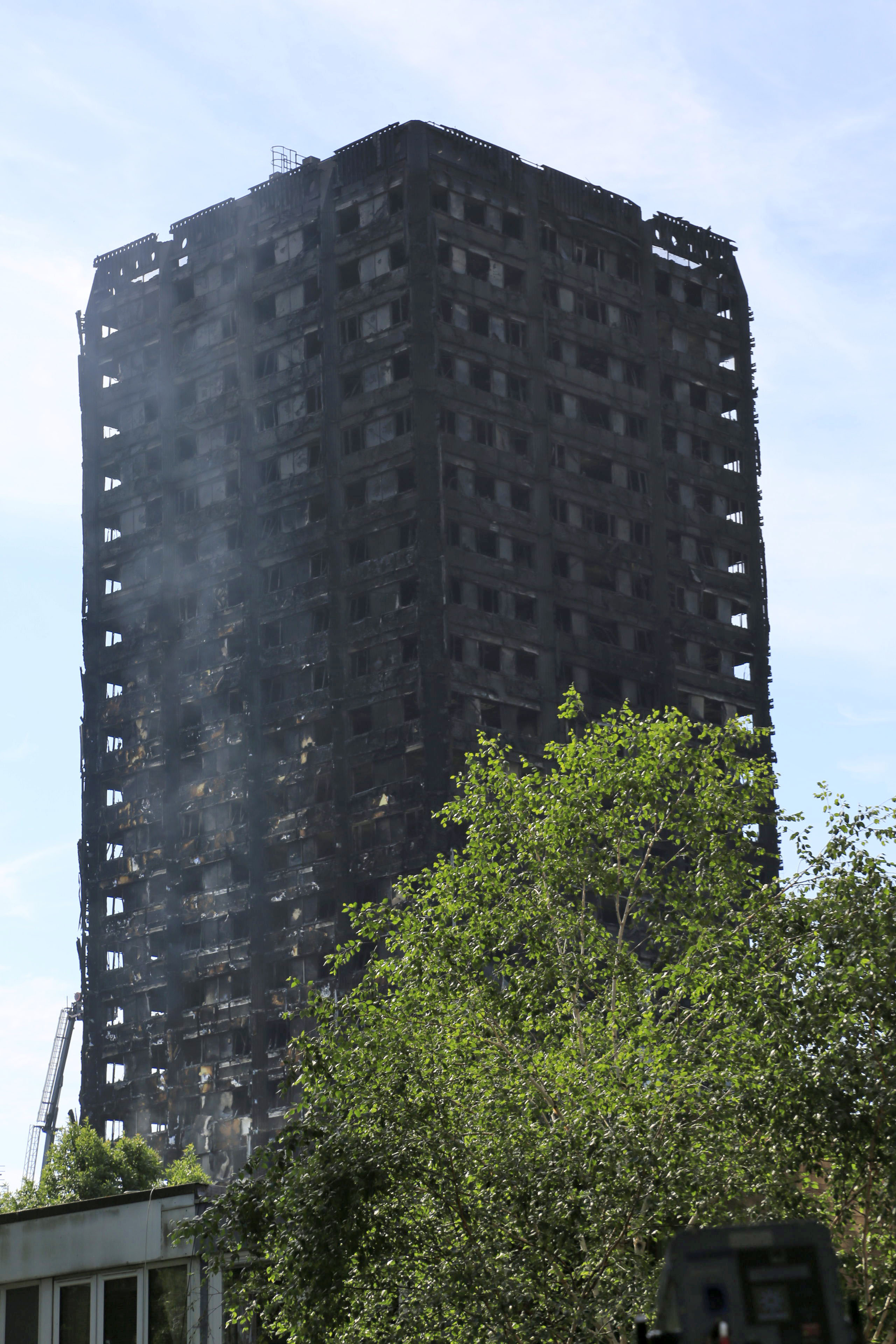 Death toll from London tower block fire reaches 17