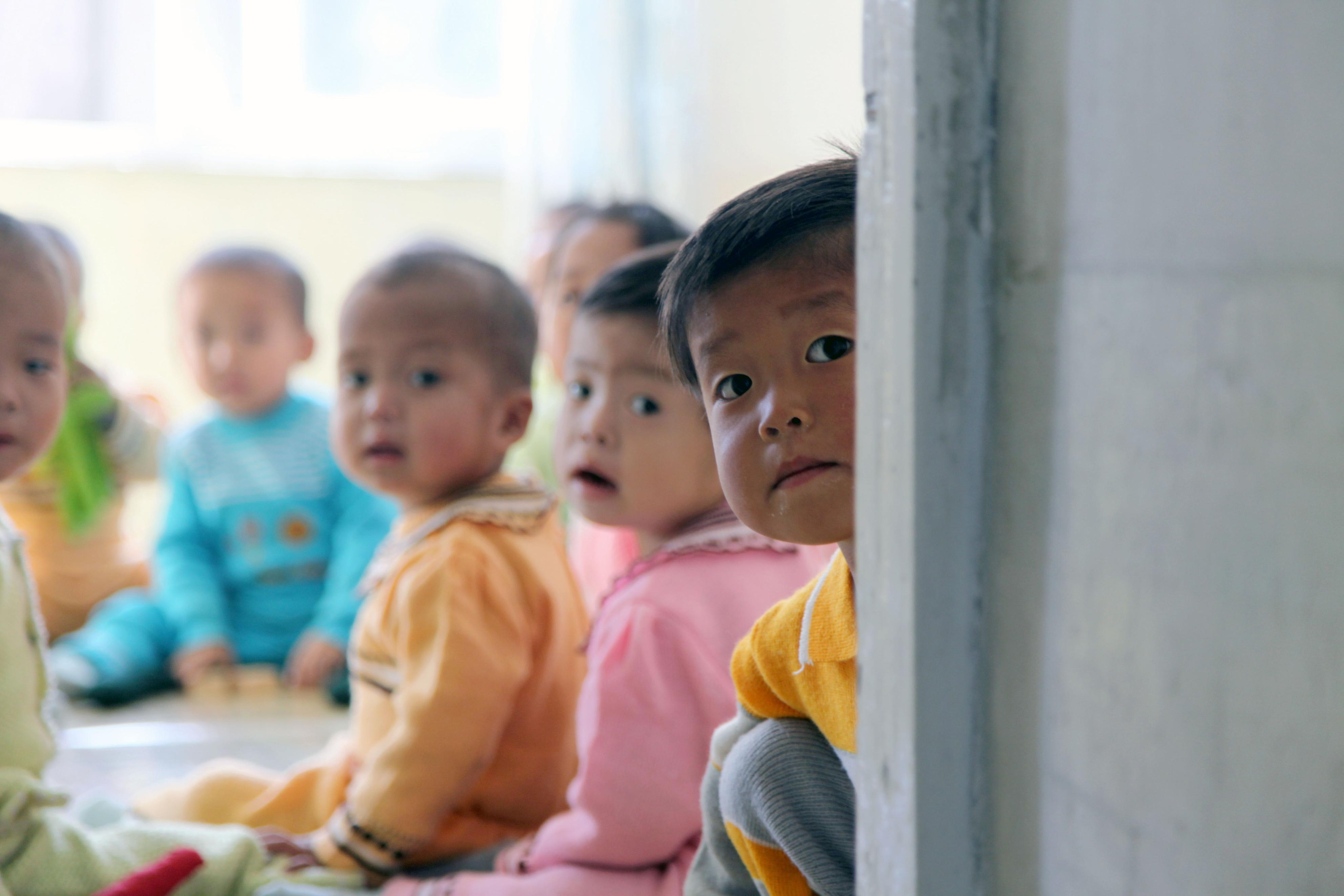 North Korean daycare supported by WFP, UNICEF (U.N.)