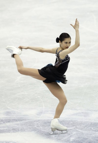 Figure skating: Miyahara at NHK Trophy