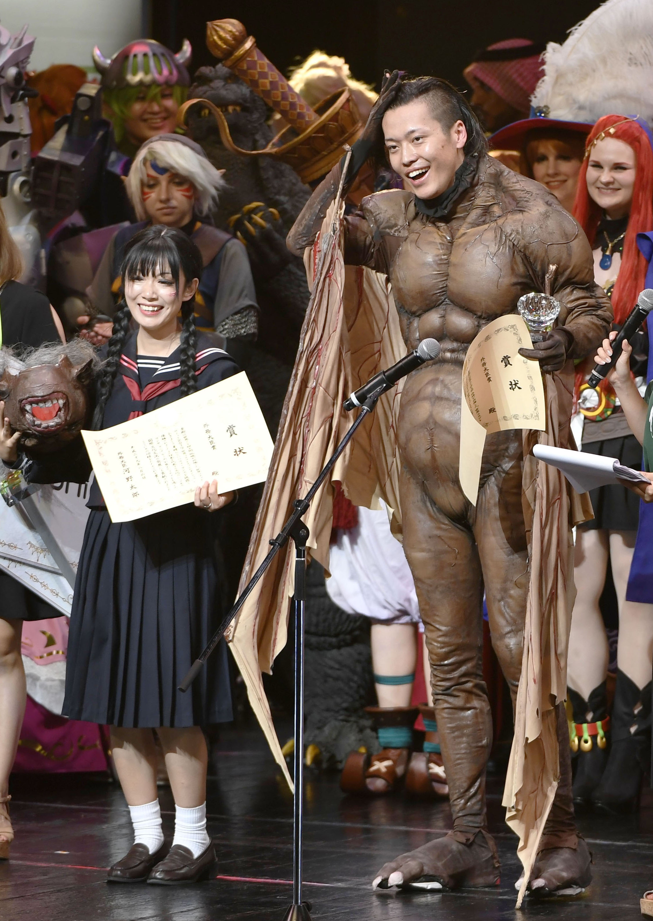 World's cosplay fans gather in Nagoya for annual event
