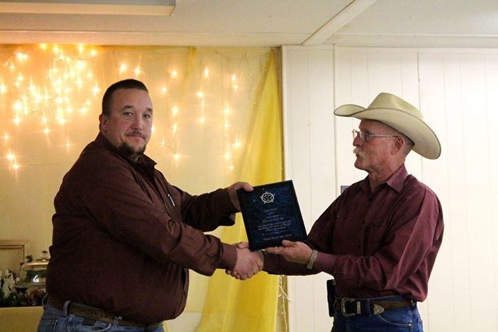 Investigator Sam Mayer and Rains County Texas Sheriff David Traylor