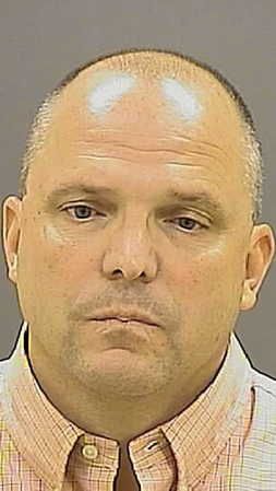 Former Baltimore Police Department Officer Thomas Schmidt mugshot following felony animal cruelty arrest