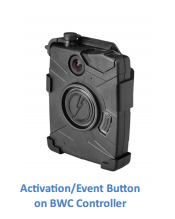 TASER International Axon Flex Body Camera Button