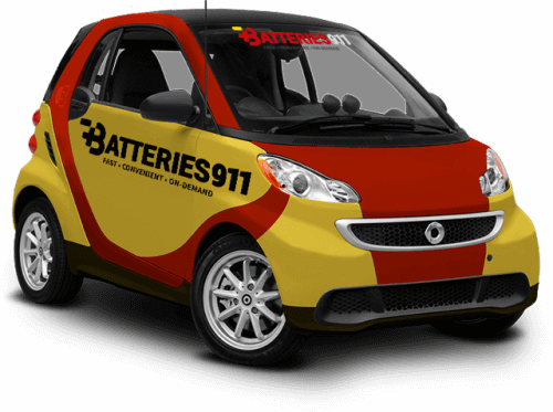 Batteries 911 - Car Battery Delivery Service - Smart Car
