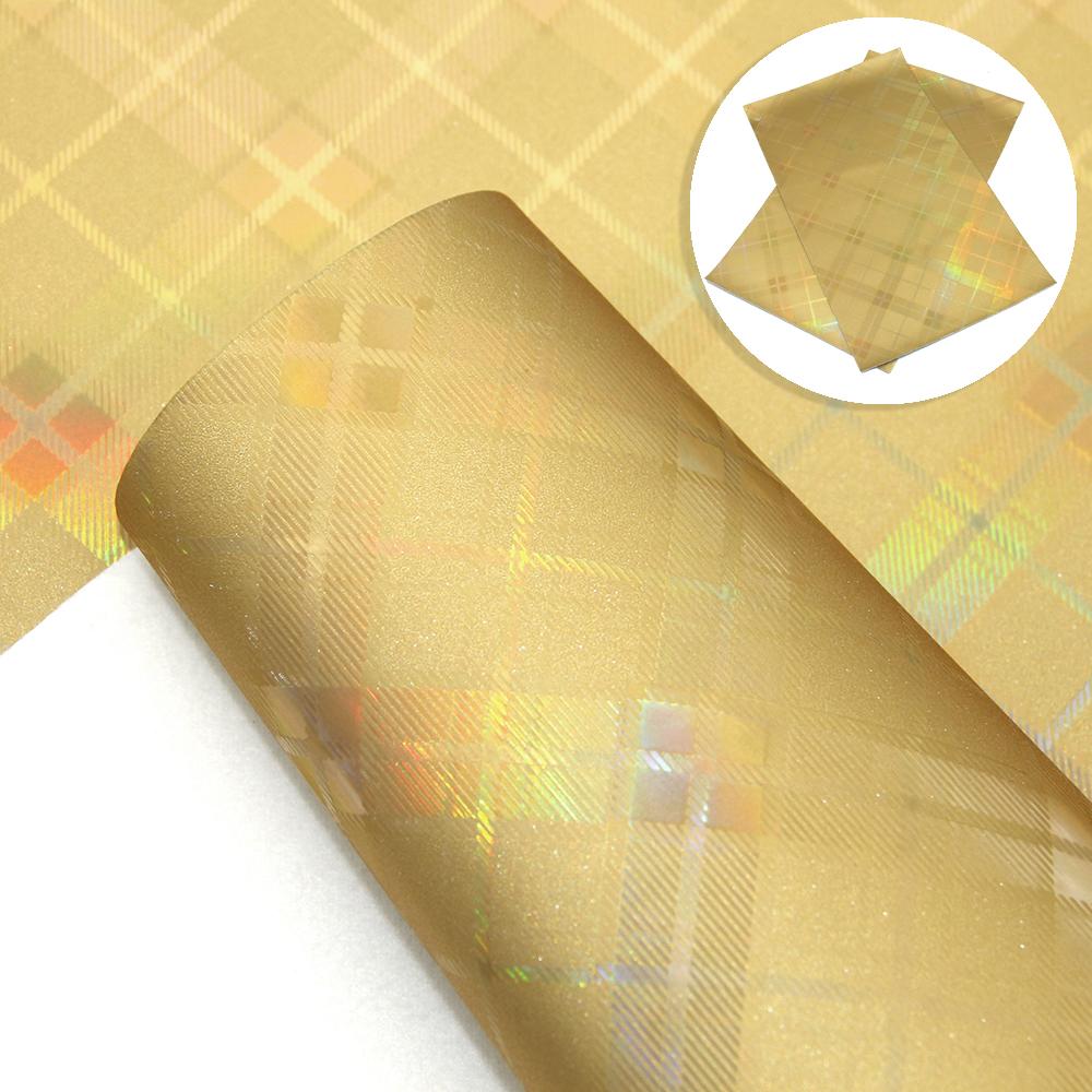 20-34cm-Plaid-iridescent-Fine-Glitter-Faux-Leather-For-DIY-Handmade-Crafts miniature 8