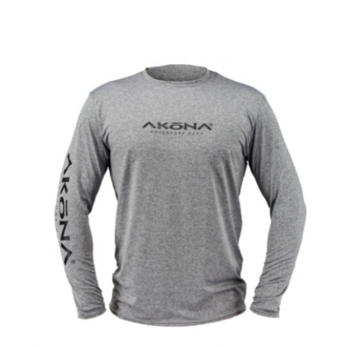 Akona Titanium Mens Rash Guard Large AKUV079TI-LG