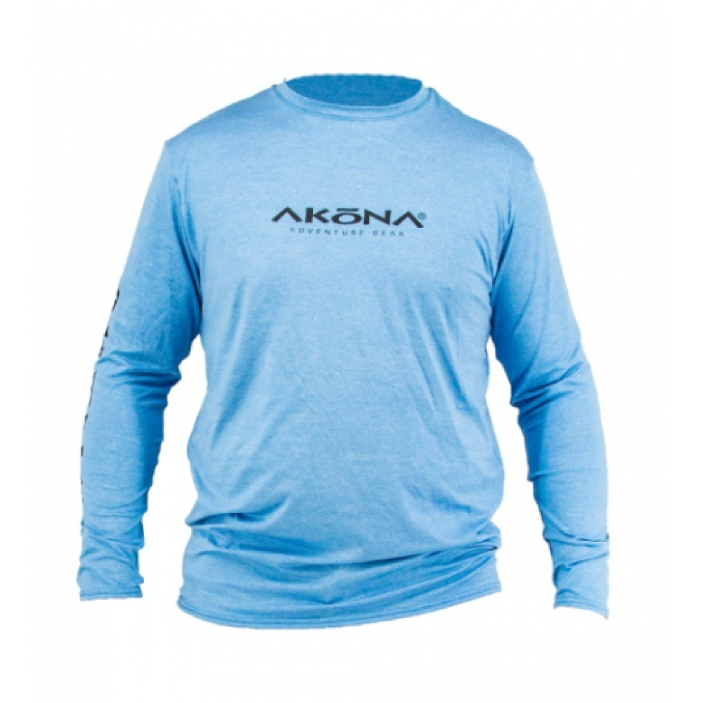 Akoma Blue Men's Rash Guard Large AKUV079