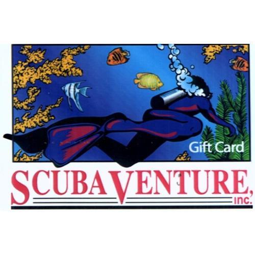 SCUBA VENTURE GIFT CARDS