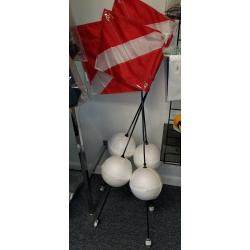 DIVE FLAG & FLOAT BALL COMBO