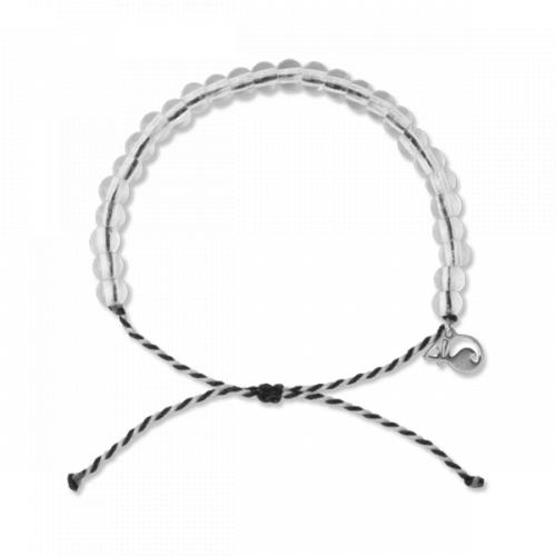 4ocean Orca Bracelet, Black/White