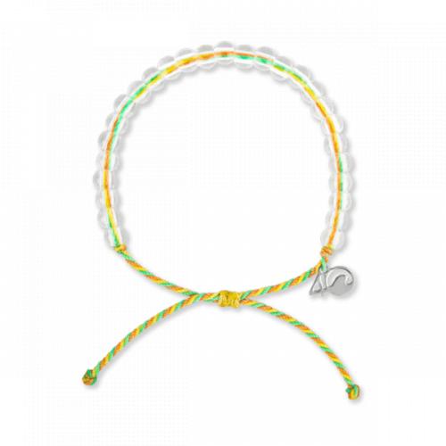 4ocean Sea Star Bracelet, Green/Yellow/Coral