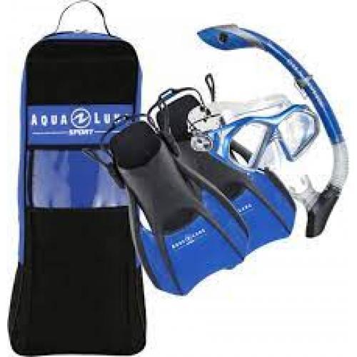 Aqualung Sport Travel Set (Blue)