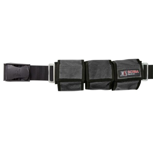 Weight Belt 6 Pocket - Black