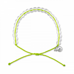 4ocean Sea Turtle Bracelet, Lime