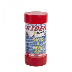 Save a dive in a tube-rubber