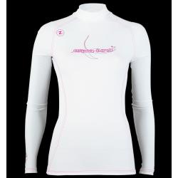 Aqualung Long Sleeve Rashguard - Ladies Pink Vanilla