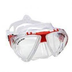 PENTA+ MASK - CLEAR/RED
