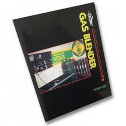 Gas Blender Manual with Gas Mix Calculator CD