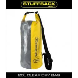 STUFFSACK EASY VIEW BAG 20L YELLOW