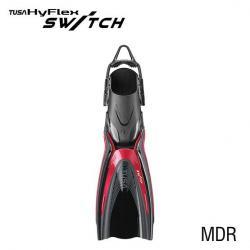 HYFLEX SWITCH FIN - METALLIC DARK RED