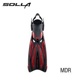 SOLLA FIN - METALLIC DARK RED