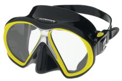 SubFrame Mask, Black/Yellow