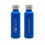 4ocean Reusable Bottle, Blue