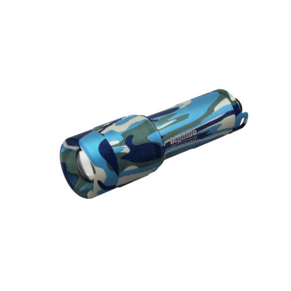450 Lumen Wide-Beam Dive Light - Blue Camo