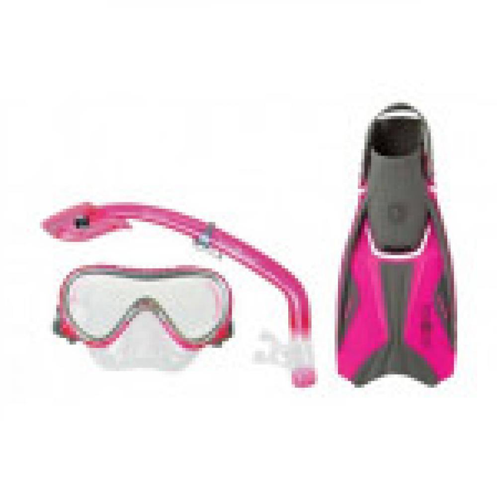 Aqualung Sport Travel Set JUNIOR (Pink)