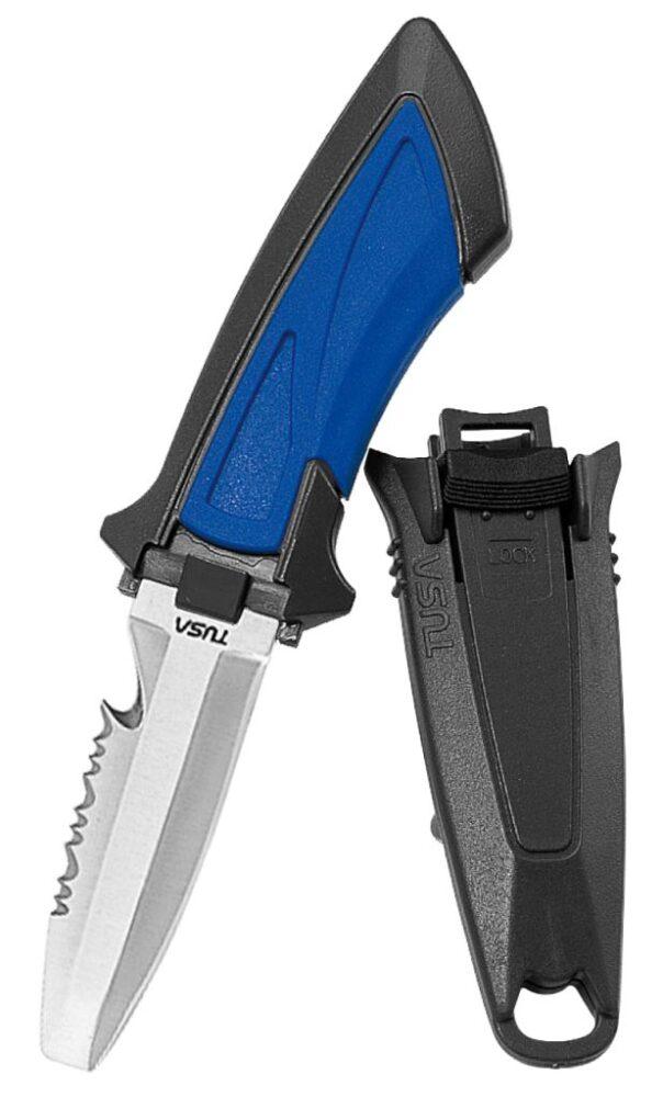 MINI KNIFE BLUNT TIP - COBALT BLUE