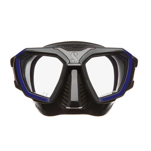 D-Mask - Blue- Clear Skirt