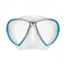 Synergy Twin w/Comfort Strap - Clear/Turquoise