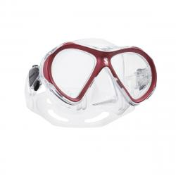 Spectra Mini - Red - Clear Skirt
