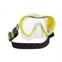 Synergy 2 - Clear/Yellow w/comfort strap