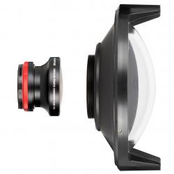 DOME PORT OLYMPUS FCON-T02 KIT WITH LENS