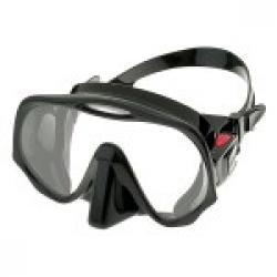 Frameless Mask, MED Black/Red
