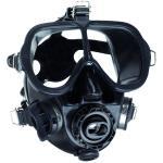 Full Face Mask w/QD and Bag - Black - Black Skirt