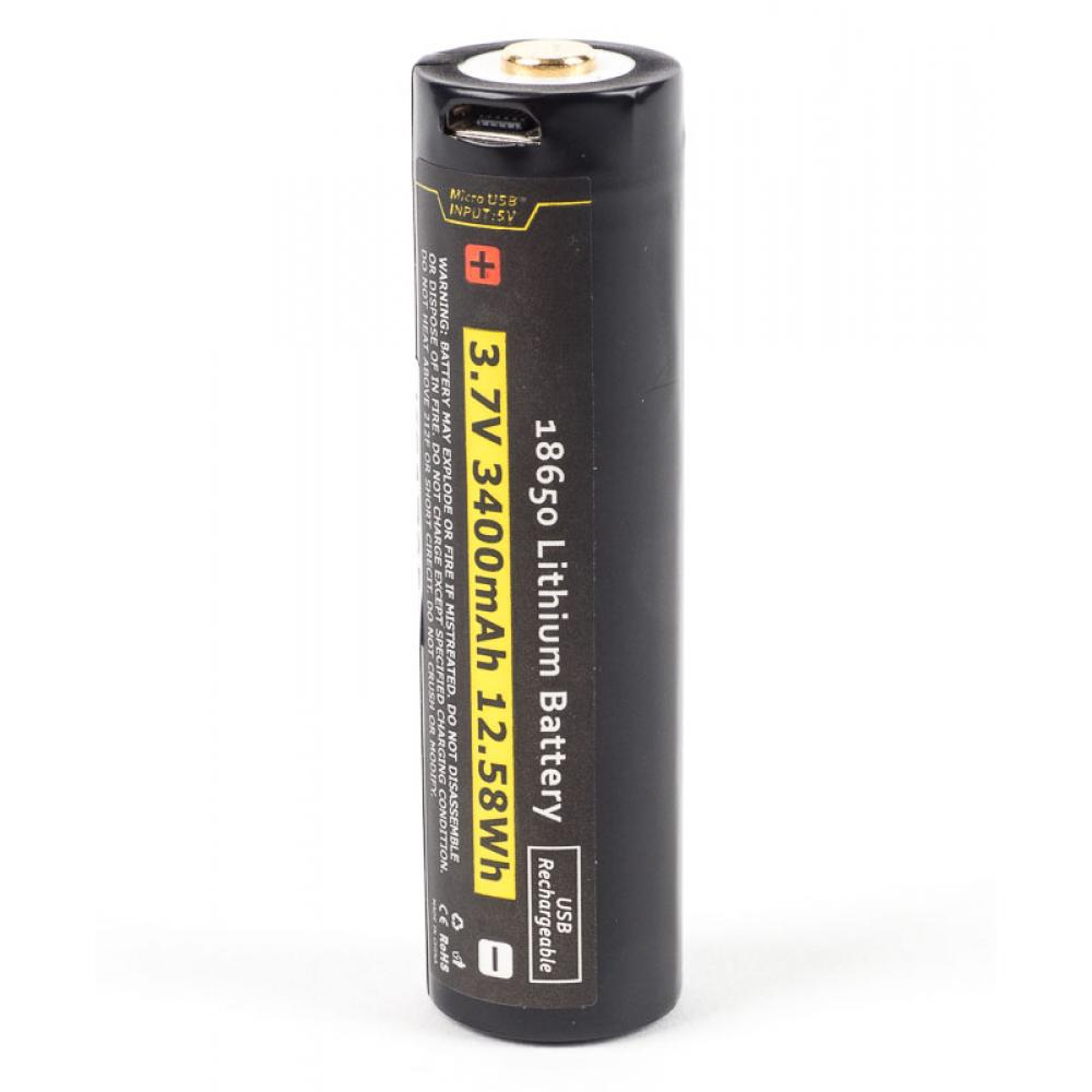 18650 w/Built in USB Charger