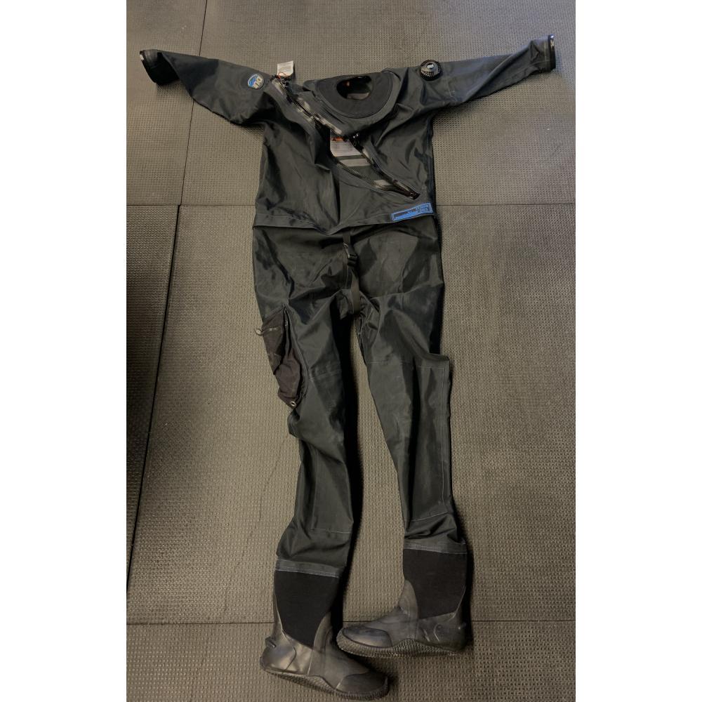 Yukon XL Men's Drysuit - Black