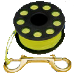 FINGER SPOOL 100' WITH CLIP