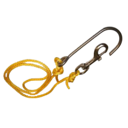 REEF HOOK WITH #2 SWIVEL SNAP