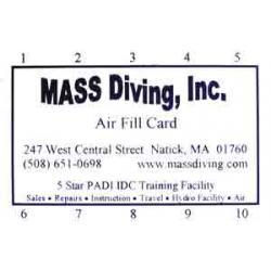 AIR FILL CARD 10 FILLS