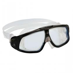 SEAL GOGGLE CLEAR LENS, BLACK GRAY