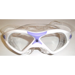 SEAL XP2 LADY  GOGGLE CLEAR LENS - WHITE/LAVENDER FRAME