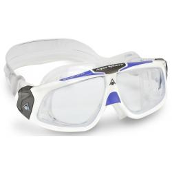 SEAL 2.0 LADY GOGGLE CLEAR LENS WHITE/PURPLE FRAME