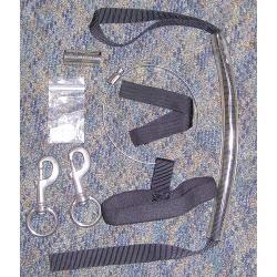 STAGE STRAP/XL S/S CLIP 40 CUFT