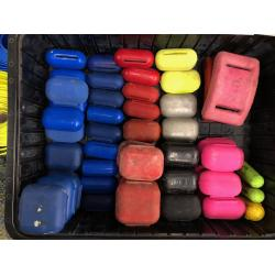 USED COATED DIVE WEIGHTS