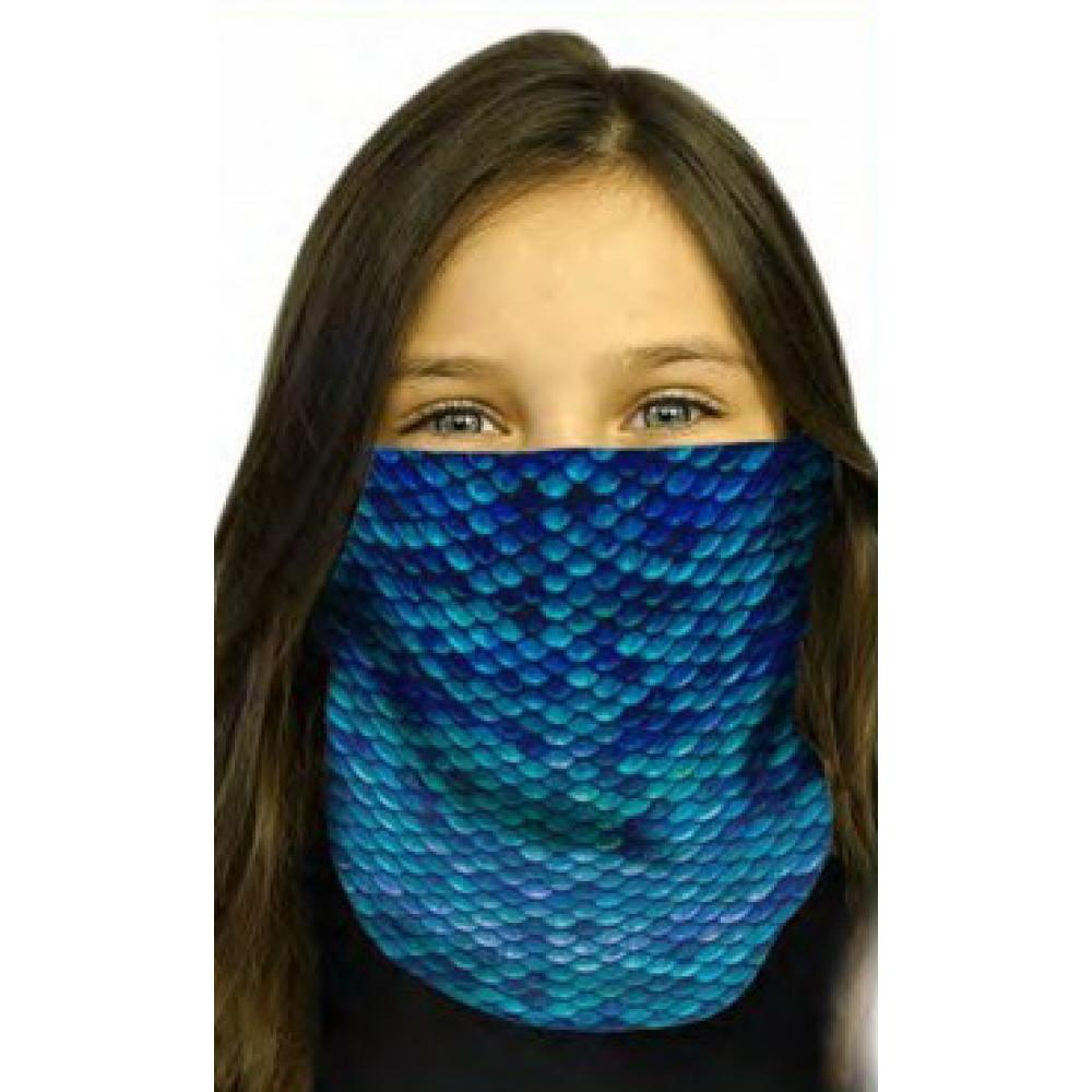 MERMAID SCALES FACE SHIELD