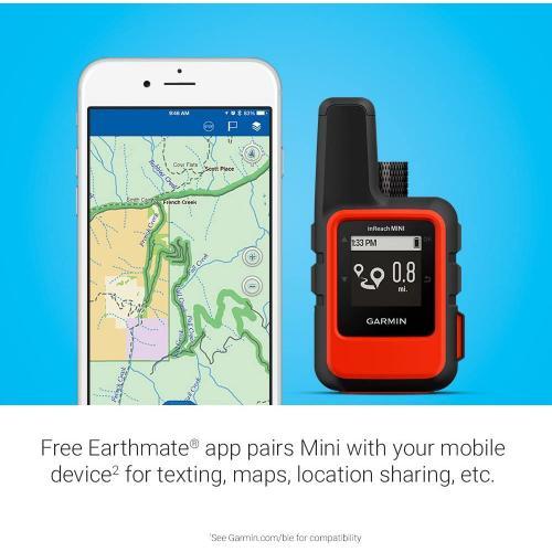 Garmin inReach Mini,Orange,GPS, WW