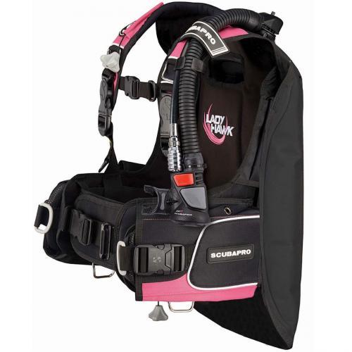 Ladyhawk BCD w/AIR2 V GEN - L Black/Pink